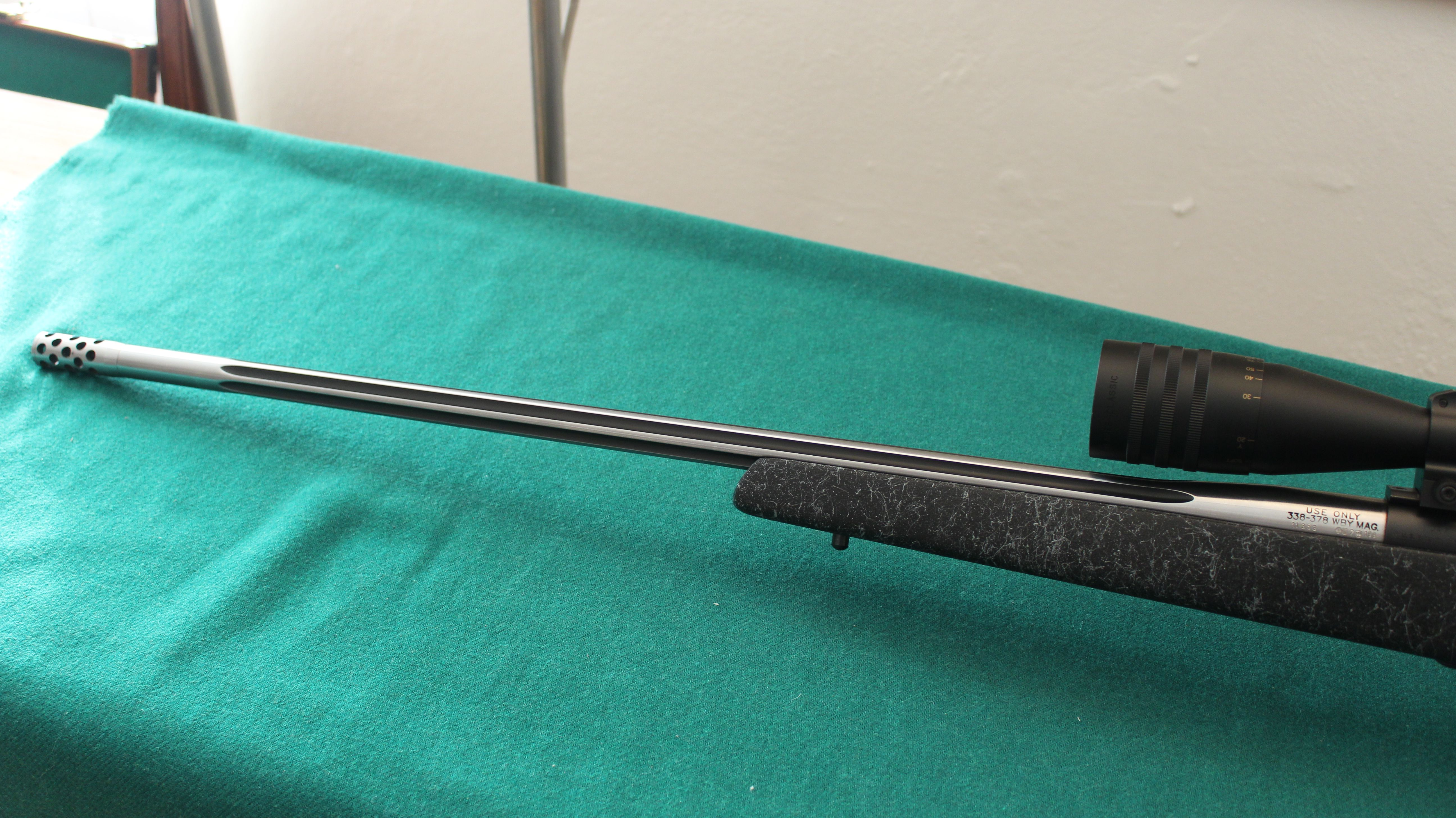 Carabina Otturatore Weatherby Mod. MARK V Cal. 338-378 WBY. MAG.