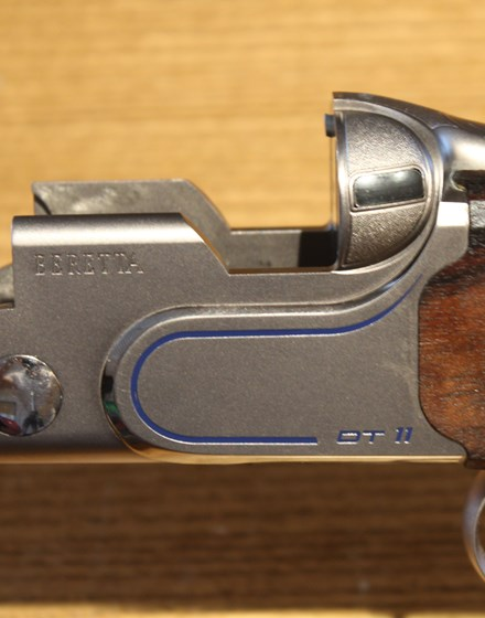 585-SOVRAPPOSTO P. BERETTA  MOD. DT11 CAL. 12 SPORTING
