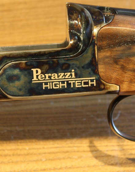 620-SOVRAPPOSTO PERAZZI CAL. 12 MOD. HIGH TECH GOLD