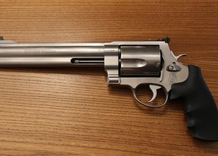 Pistola Revolver Smith & Wesson 500 Mag.